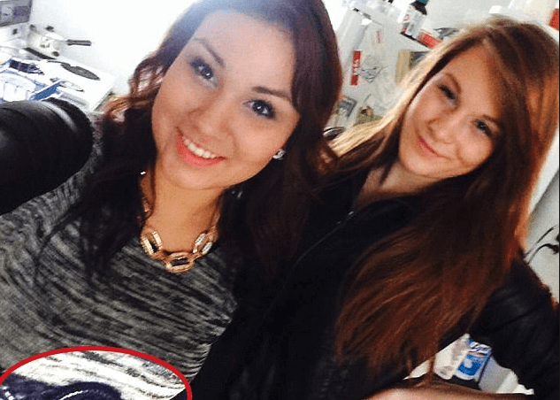 Facebook selfie helps convict killer because it shows the belt she used to throttle victim! Brittney Gargol was strangled by best friend Cheyenne Rose Antoine - Cops